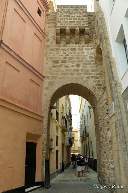 Arco de la rosa de Cádiz