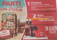 Logo Parti con Coca-Cola e vinci 100 Trolley personalizzati