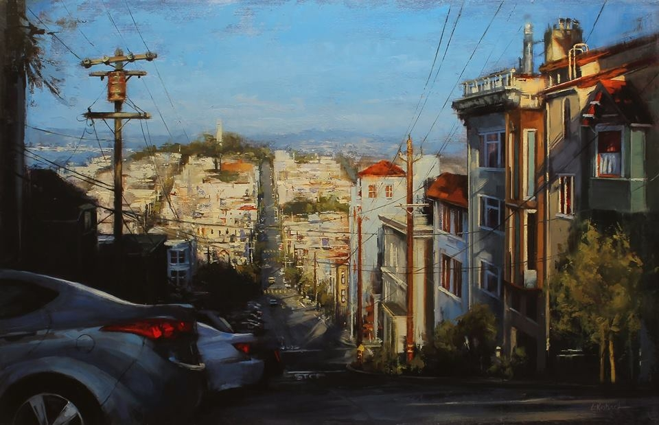 08-Lindsey-Kustusch-Urban-Goings-on-Captured-in-Oil-Paintings-www-designstack-co