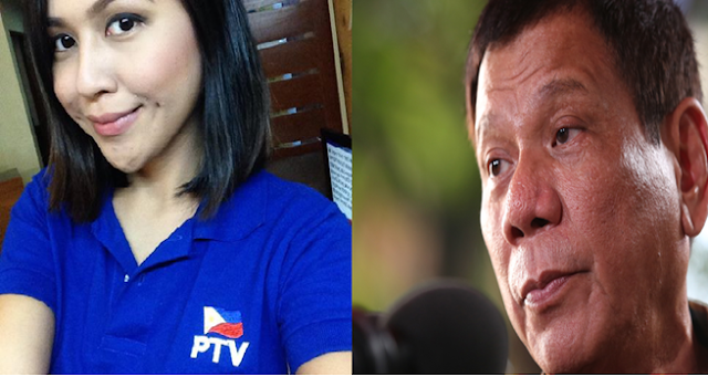 Duterte hits on TV reporter while bashing de Lima for having a new lover