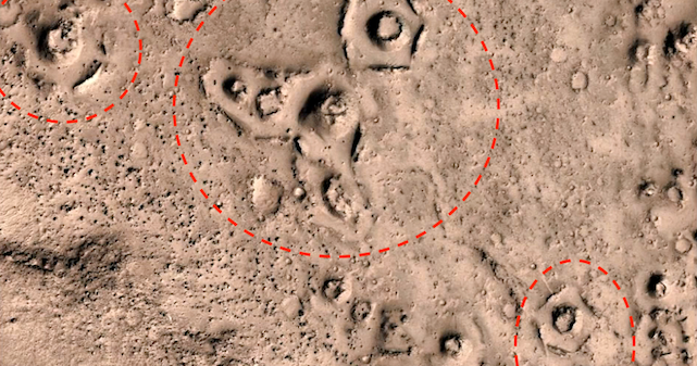 UFO SIGHTINGS DAILY: Ancient Alien Ruins Found On Mars In ...