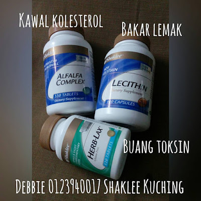 Elak berat badan naik - Ambil Alfalfa Complex, Lecithin, Herb-Lax
