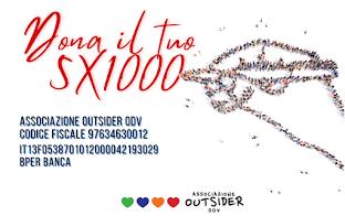 dona il 5x1000 associazione outsider odv
