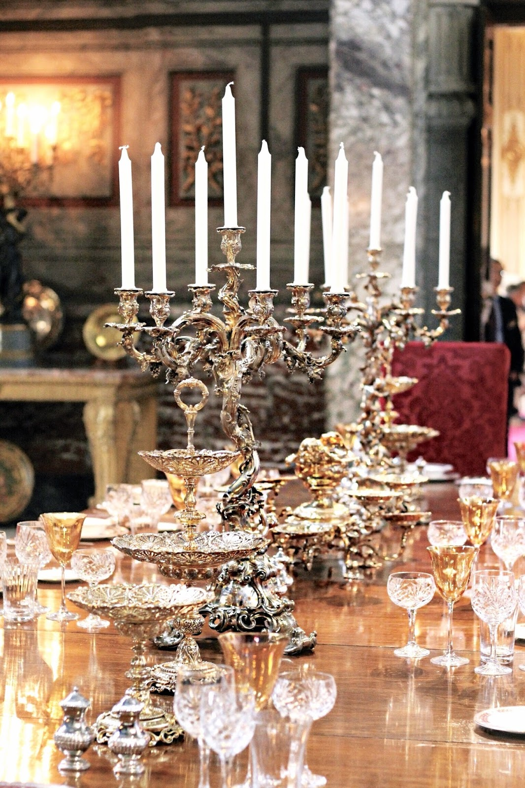 Blenheim Palace Dining Room