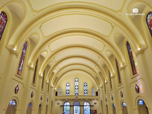 Vista ampla da cobertura da Igreja de São Francisco de Assis - Vila Clementino - São Paulo