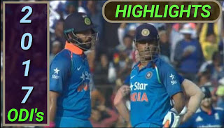 2017 ODI's Matches Highlights