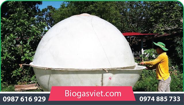 bình khí biogas