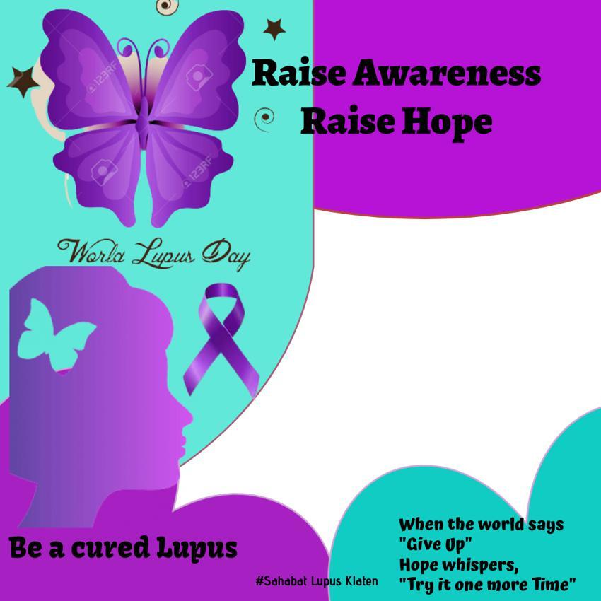 Link Twibbon Mari Peduli Lupus untuk World Lupus Day 2021