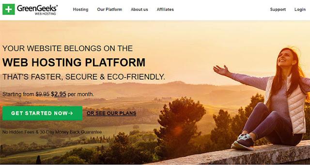 GreenGeeks Cheap Hosting plan: $2.95/mo (36 months) | Renewal at: $9.95/month: eAskme