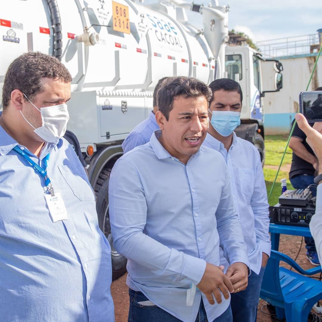 Vereador questiona suposto valor exorbitante com aluguel de 12 carros no SAAE em Cacoal