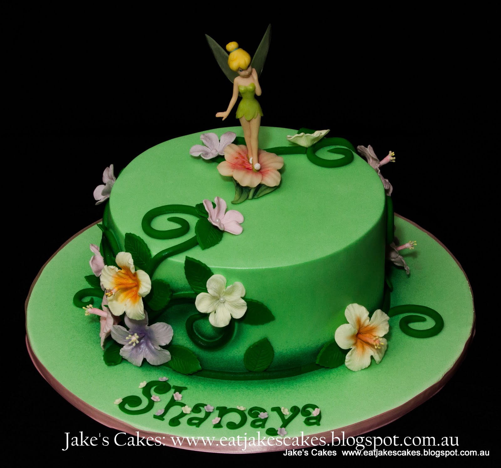 How To Make Tinkerbell Cake Topper