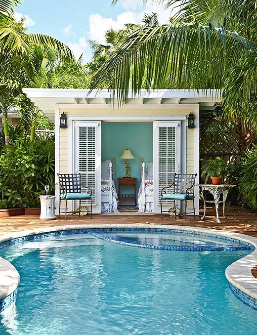 Backyard Pool Designs Ideas for Beach Bums & Coastal ... on Coastal Backyard Ideas id=28242
