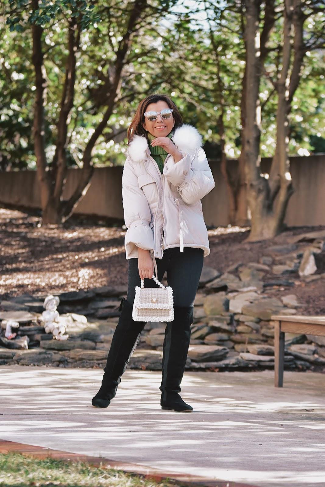 Winter Girly Outfit by Mari Estilo-winterstyle-sheingals-dcblogger-canaldemariestilo-moda-bolsos vintage-botas altas-ootd-