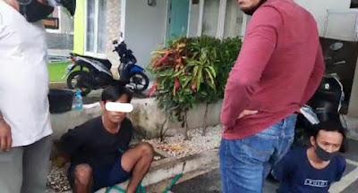 Dua Pengedar Narkoba Kota Mataram Dibekuk Polisi Usai Transaksi