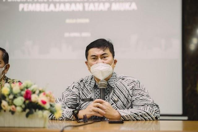 Utamakan Keselamatan Peserta Didik, Disdik Kota Bandung Terapkan PTM Terbatas