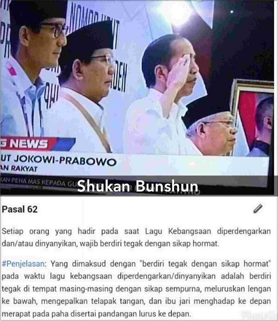 Jokowi Melanggar Aturan Hormat_8