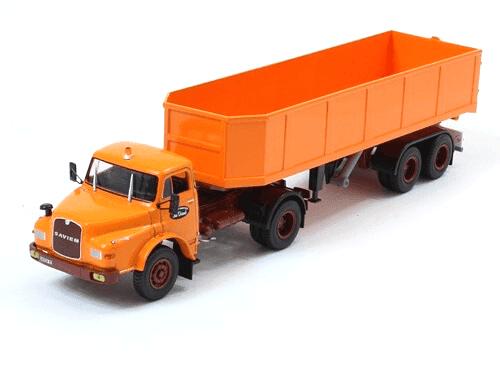 coleccion camiones articulados, camiones articulados 1:43, Saviem 19.280 HTB camiones articulados