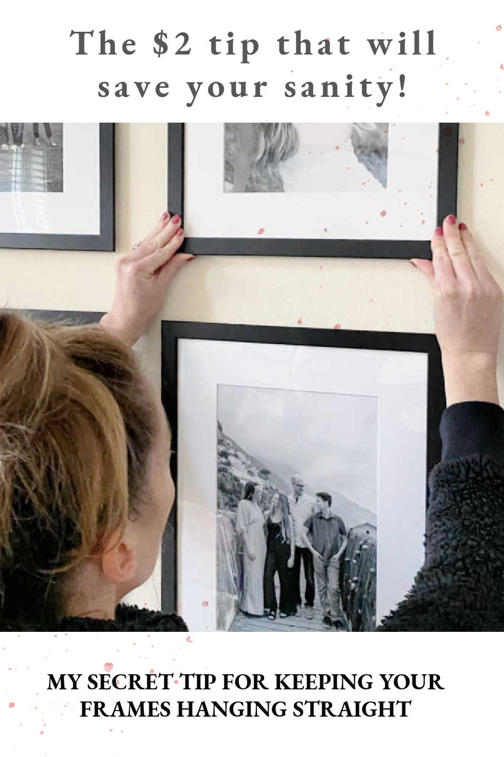 GALLERY WALL FRAME TIPS
