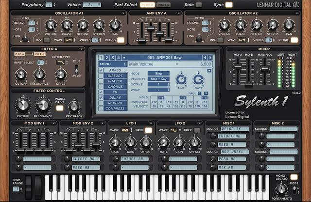 sylenth1 lennard digital synth full vst presets EDM sound banks skins plugin