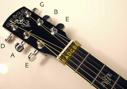 3 cách chỉnh dây đàn Guitar cho người mới tập