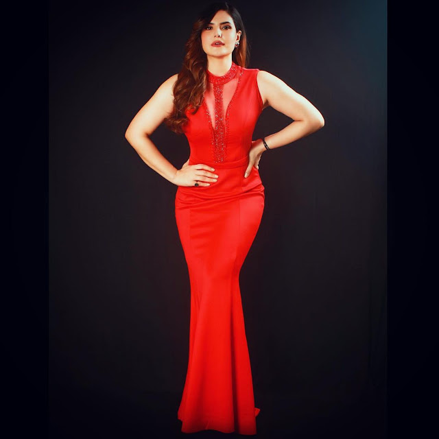 Zarine Khan wreaked havoc in red gown, praising fans of glamorous style World Daily News24 - English