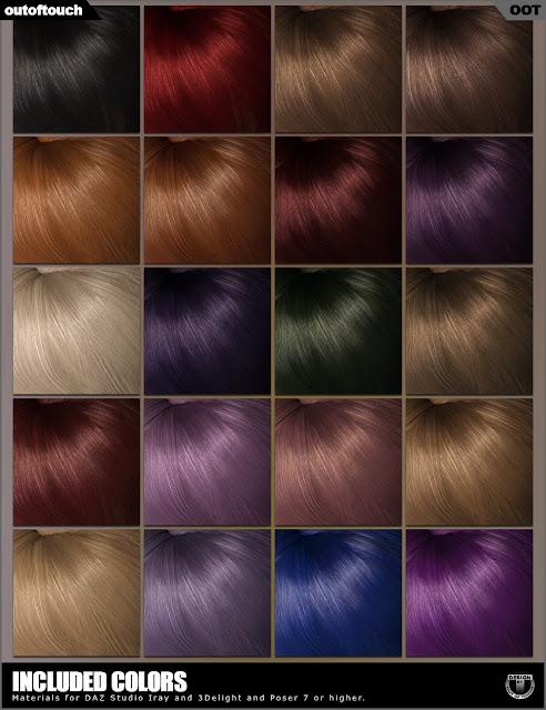 Sapphire Hair