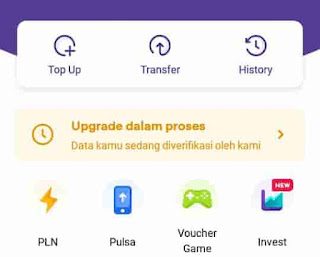 upgrade ovo premier dalam proses verifikasi