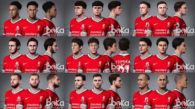 PES 2021 Liverpool Facepack V1 by Boka