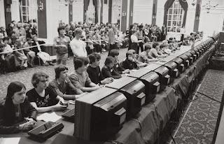 Campeonato videojuego Space Invaders de Atari - 1980