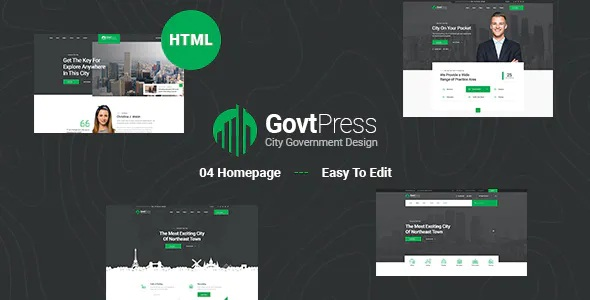 Best Municipal and Government Website Template
