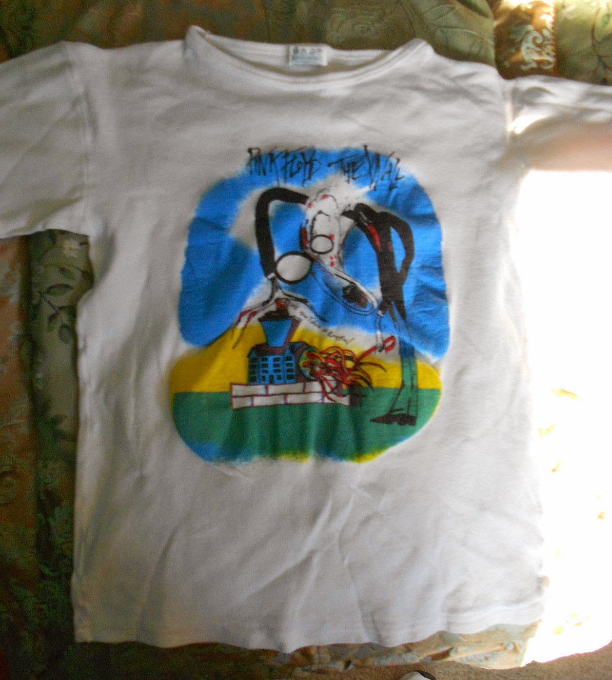 bc10899f PINK FLOYD THE WALL '82 TOUR ORIGINAL VINTAGE 1982 T-SHIRT | vintage ...