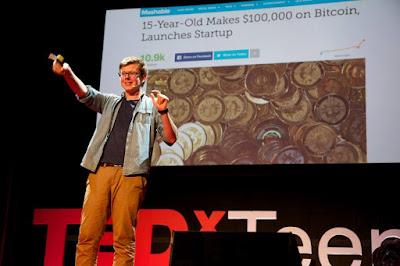 O rapaz norte-americano que investiu em bitcoin em 2011, quando tinha só 12 anos.