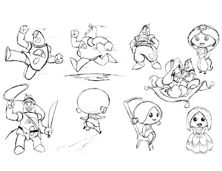 The Art of Simon Rosati: My Dream Toy Characters Sketches