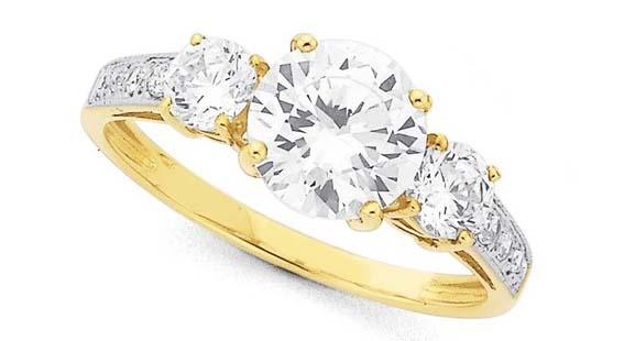 cincin emas wanita