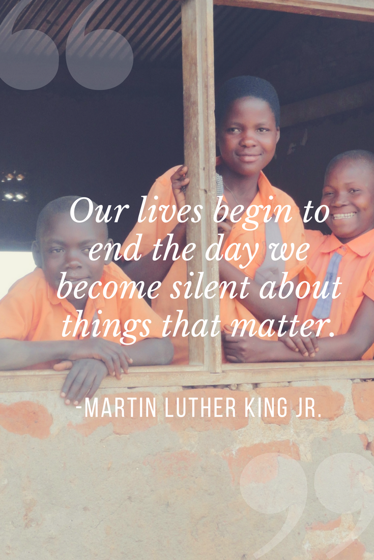 MLK Jr quote about silence