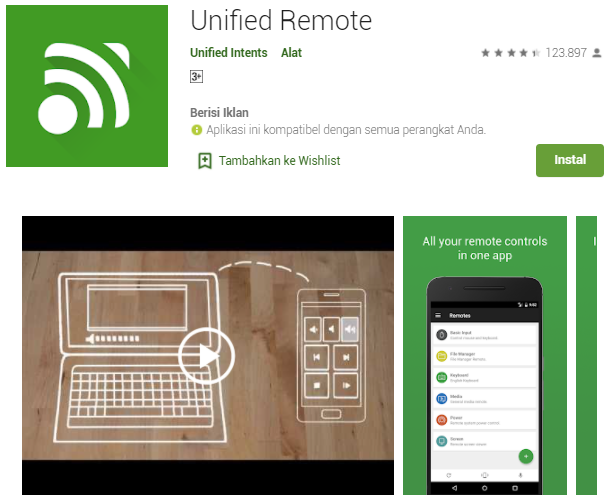 Aplikasi Remot Laptop Dari Hp Android