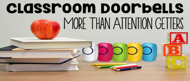 wireless classroom doorbell for classroom management or game buzzers from Sadotech