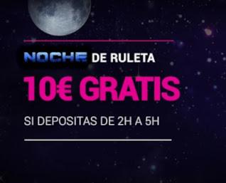 GoldenPark 10€ gratis madrugada 18-12-2020