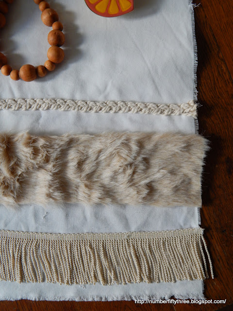 Love ths table runner by number fifty three with the faux fur!!!
