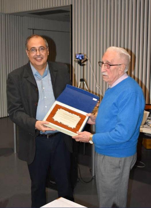 Homenaje a Lluís Falcó Segarra en 2018