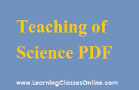 Pedagogy of SCIENCE notes, Pedagogy of SCIENCE book, Pedagogy of SCIENCE pdf, Pedagogy of SCIENCE material, Pedagogy of SCIENCE in English , Pedagogy of SCIENCE ebook, Pedagogy of SCIENCE b.ed,
