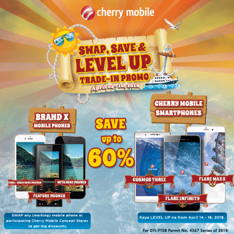 Cherry Mobile Swap and Trade-In Promo
