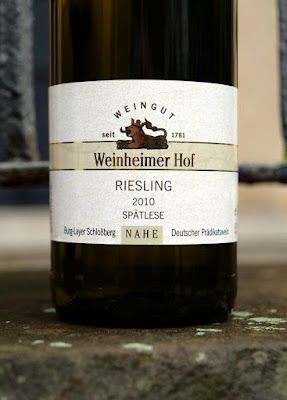 Riesling aus dem Weingut Weinheimer Hof.
