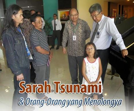 Sarah Tsunami dan orang-orang yang menolongnya