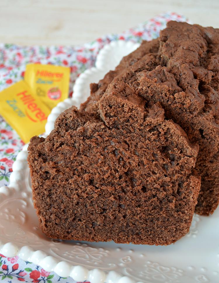 Budín de chocolate sin azúcar