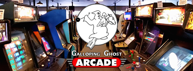 Banner Galloping Ghost Arcade
