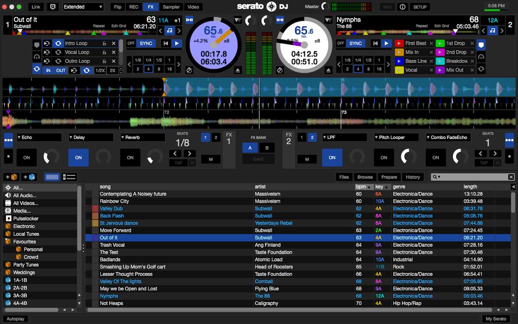 Tải phần mềm Serato DJ Pro 2.1 Full Activate + Hướng dẫn cài đặt