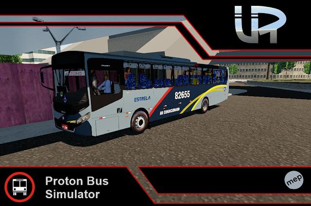Skin Proton Bus Simulator - Apache VIP IV VW 17.230 OD Euro IV Transportes Estrela