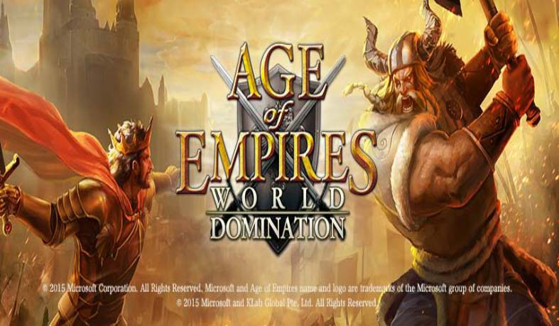 Age of Empires World Domination Gameplay IOS Android YouTube