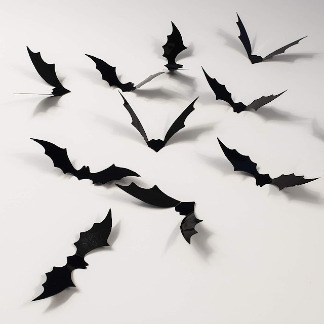 3D Halloween Bat Decorations